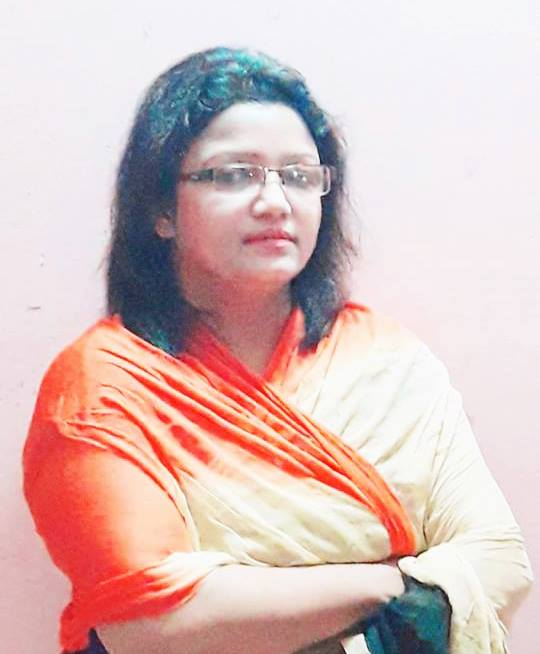 জয়তু নীল .. .. .. .. শাহ সাবরিনা মোয়াজ্জেম।