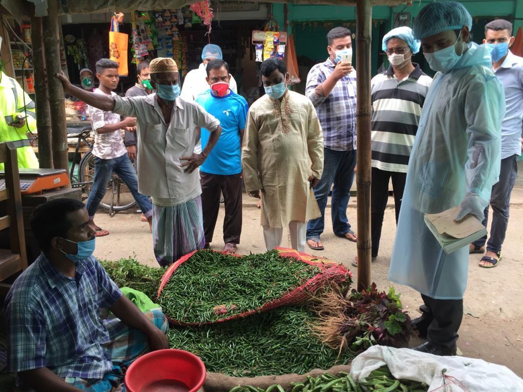 কমলগঞ্জে ভোক্তা অধিকার অধিদপ্তরের অভিযানে জরিমানা আদায়