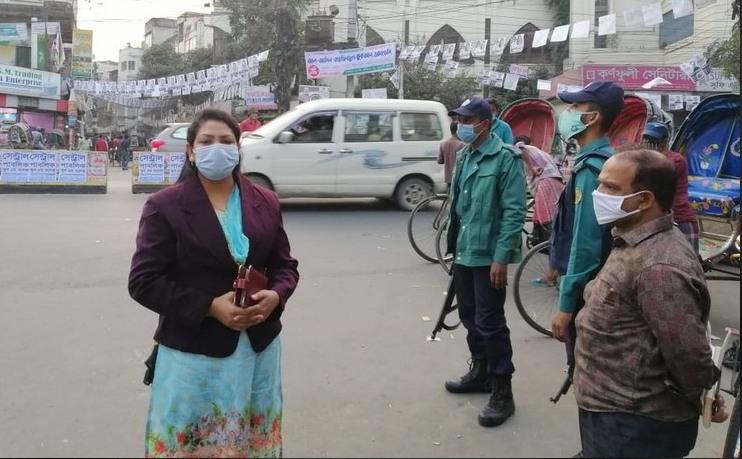 চট্টগ্রাম জেলা প্রশাসন ভ্রাম্যমাণ আদালতের নির্বাচনী আচরণবিধি মনিটরিং।